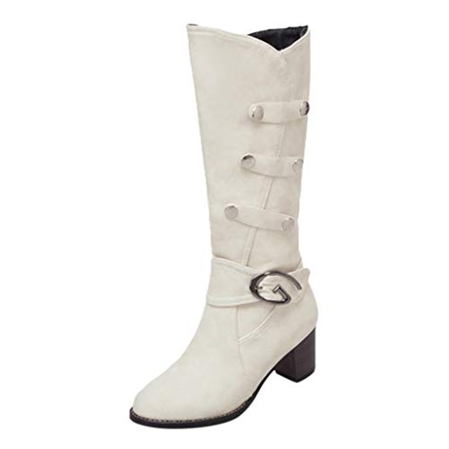 Watopi Kniehohe Stiefel Damenmode Peeling Outdoor Stiefel Sexy High Heel Winter Warme Schneeschuhe Schuh
