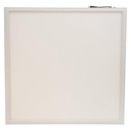 Illuminazione LED panel 60x60 quadrata ultrasottile 40W bianco naturale da 4000 a 4500 kelvin. Ideale per una casa, un ufficio o uno scopo commerciale moderno. Profilo in alluminio stampato bianco con sfumatura opaca bianca. La migliore applicazione di montaggio è da incasso, soffitto o sospensione. 30000 ore di vita e 3 anni di garanzia.