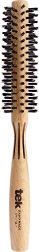 Tek brosse ronde à cheveux avec poils de sanglier, diamètre 35 mm - 100% fabriquée en Italie