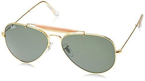 Ray-Ban Aviator Sunglasses (Golden) (RB3129|W022658)