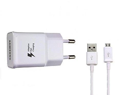 Samsung EP-TA20EWE - Cargador con cable de datos para Samsung Galaxy S6...