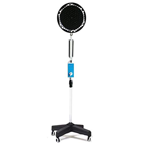 ZJ-GLY Hyperthermie-Lampe, Tragbare medizinische 250W TDP-Infrarot-IR-Heizlampe Physiotherapie mit Ständer und flexiblem Arm für Mineraltherapie-Thermotherapie