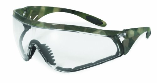 Specialized Safety Products SSP 13229 Yakima CL A/F Unisex Safety Glasses with Clear Anti-fog Lenses and Military ACU Camo Frame by Specialized Safety Products