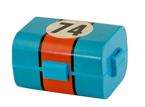 Lunch-Box für Kinder & Erwachsene, mit Trennwänden, 17 x 13 x 10 cm - Ideal für Kiga, Schule, Arbeit und Outdoor ()
