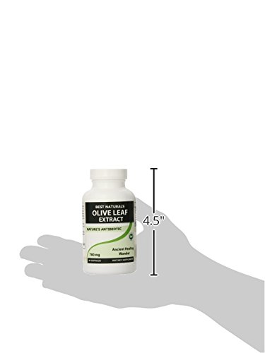 Best Naturals Olive Leaf Extract, 700 Mg, 90 Capsules Test