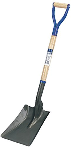Draper 31391 Hardwood Shafted Square Mouth Builders Shovel