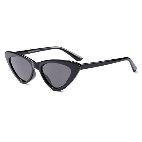Juleya Sexy Cat Eye Sonnenbrille Frauen Retro Rot Kleine Dreieck Sonnenbrille C1