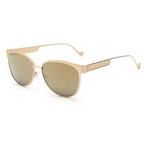 Yiph-Sunglass Sonnenbrillen Mode Leg Cat Eyes Full Frame Damen Sonnenbrille Farbige Linse UV400 Schutz Fahren Radfahren Laufen Angeln Golf (Farbe : C5)