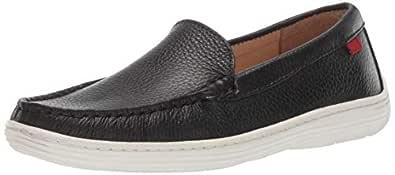 MARC JOSEPH NEW YORK Kids' Leather Boys/Girls Casual Comfort Slip on Moccasin Venetian Loafer Driving Style
