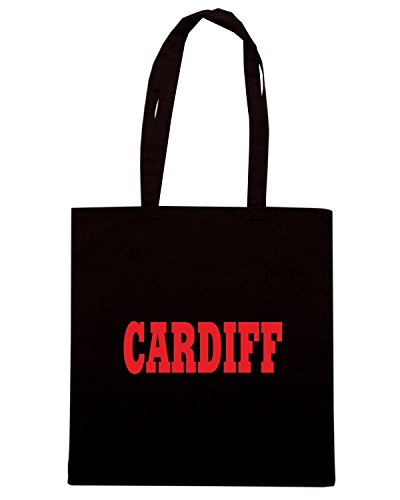T-Shirtshock - Borsa Shopping WC0731 CARDIFF Nero