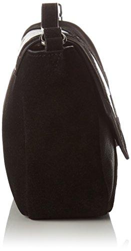 Borsa A Tracolla Petite Mendigote Donna Libra, 5x10x15 Cm Nero (nero)