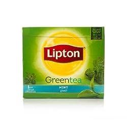 Lipton Green Tea Mint, 100 Tea Bags, 150g (100 * 1.5g)