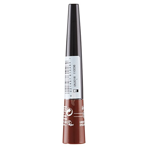 lavera Liquid Eyeliner Brown braun ∙ Kajal flüssig Liner ∙ Präziser Lidstrich ∙ Natural & innovative Make up ✔ vegan ∙ Bio Pflanzenwirkstoffe ∙ Naturkosmetik 1er Pack (1 x 4 ml) - 3