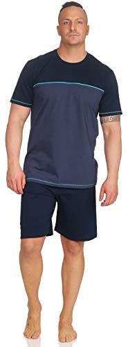 Schiesser Herren Schlafanzug Pyjama kurz SK3 (52/L)