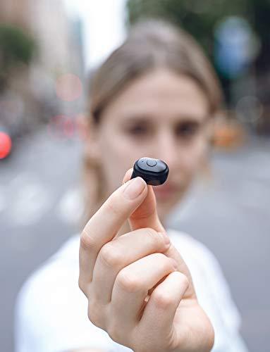 Auriculares Bluetooth 5.0,  Mixcder T1 Auriculares Inalámbricos Sonido Estéreo Auricular Mini Twins In- Ear Auriculares,  Cancelación de Ruido CVC8.0,  20 Horas de Juego,  con Caja de Carga Portátil- Negro
