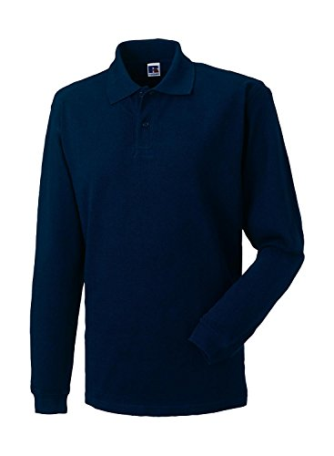 russell-collection-klassisches-pique-langarm-poloshirt-r-569l-0-mfrench-navy