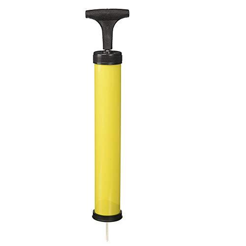 AAGOOD 12-Zoll-Fußballpumpe (Gelegentliche Farbe) Ballpumpe für Gymnastikball Bläst Beliebig Gym Yoga