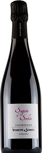 Vouette Et Sorbee Champagne Saignée De Sorbée Rosè