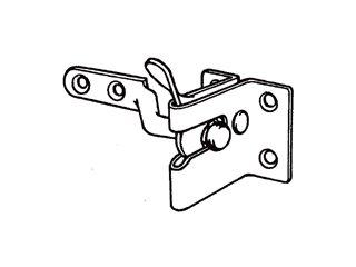 Securit Bohrer für Wechselstrom-Bohrmaschinen etc, schwarz, S5130 - Türschloss Rollen