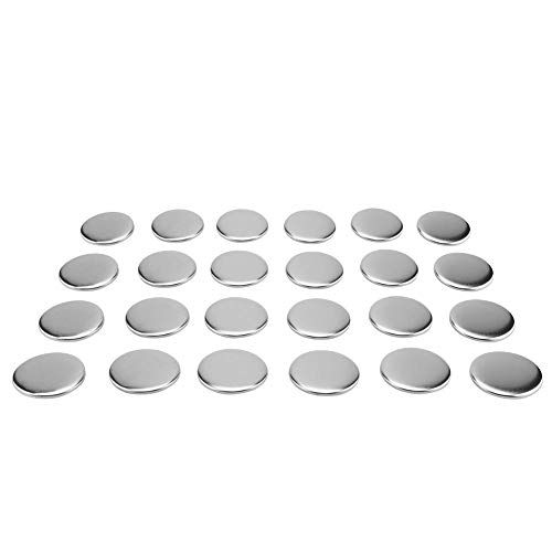 Bottone badge pin, 1000 pezzi 58 mm pin button parts diy consumabili per pro button maker bianco