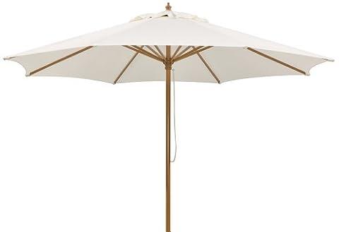 Schneider Parasol Malaga Naturel 300 x 300 x 257 cm 614-02