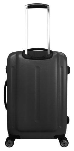 ... 50% SALE ... PREMIUM DESIGNER Hartschalen Koffer - Heys Core Quad Schwarz - Handgepäck Schwarz