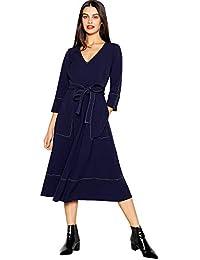 391966c2ee6e Debenhams J by Jasper Conran Womens Navy Stitch Detail Midi Utility Dress