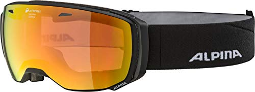 ALPINA Erwachsene Estetica QMM Skibrille, Black matt, One Size