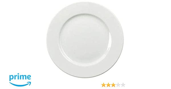 blanc lot de 6. Fsmisc 304111/assiette 250/mm porcelaine