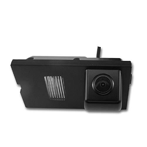 Farb Rückfahrkamera integriert in die Nummernschildbeleuchtung LED Kennzeichenbeleuchtung Kamera mit Distanzlinien für Land Rover Discovery 3 LR3 4 LR4 Range Rover Sport Freelander 2, Vogue Range Rover Vogue