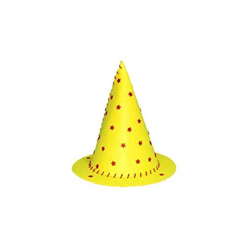 Hexenhut Zauberhut für Kinder Kinder magischer Hut handmade DIY Kindergarten Lernspielzeug Halloween Geschenke