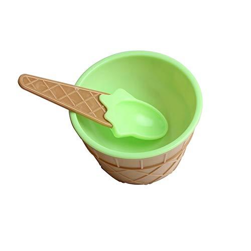 JINSEQ Teller & Schalen Für Kinder Sichere Fütterung Babyschalen Teller Kindergeschirr Lebensmittelbehälter Tassen Kindergeschirr Eisbecher Löffel Geschirr Geschenk, Q2