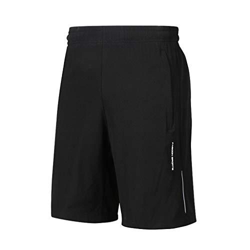 Lands End Jungen Shorts (Celucke Trainingsshorts Herren Sporthosen Männer Kurz Sport Laufshorts Tasche Mit Reißverschluss, Kompression Atmungsaktiv Stretch Performance Pro Dry Shorts für Fitness)