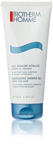 Biotherm homme/men, Energizing Shower Gel, 1er Pack (1 x 200 g)
