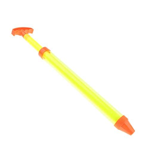 F Fityle Kinder Wasserpistole / Wasserkanone /Wasser Pistole/ Wasserspritze aus Kunststoff für Bade Pool Strand Spielen Spaß - Einrohr, 44 cm