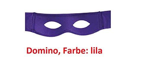 Superheldenmaske, Augenmaske, Domino Superhero, Maske, verschiedene Farben (Masken Lila)