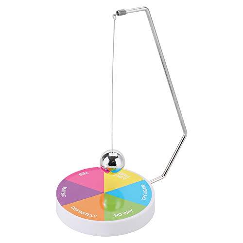 Entscheidungsträger Ball, Magnetschwinge Pendel Dekompression Spielzeug Ball Weihnachten Urlaub Geburtstagsgeschenk für Home Office Schreibtisch Dekoration(#02)