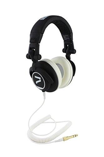 7even® Headphone Black-White/Dj, HiFi, Sport Kopfhörer, dreh-klappbar, abnehmbares Kabel …