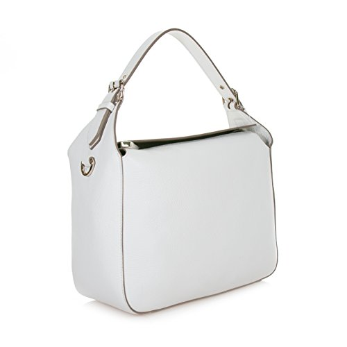 COCCINELLE EDIT DOUBLE HANDBAG YF0180101 010 BIANCO
