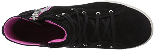 Viking GjevjonGTX Damen Hohe Sneakers Schwarz (Black/Dark Pink 239)