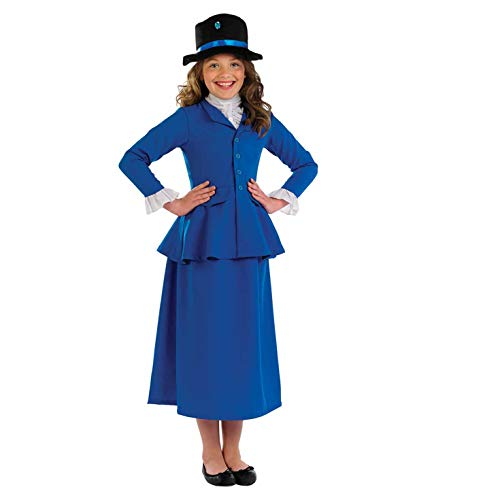 Fun Shack - Costume Déguisement, Girls, FNK3604L, Victorian Magic Nanny, L - version anglaise