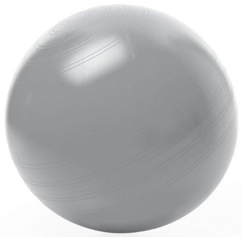 Togu Gymnastikball Sitzball ABS (Berstsicher), silber, 65 cm