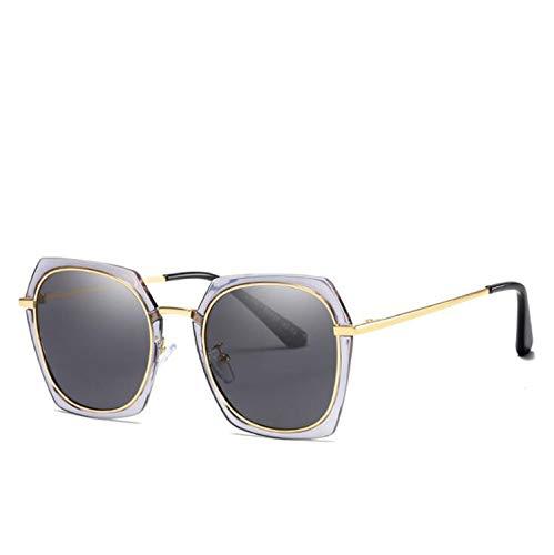 CASEY-L Sonnenbrille, TAC Polarized Ladies Sonnencreme UV-Schutzbrille Leichtes Fahren New Trend Metal Frame Outdoor B