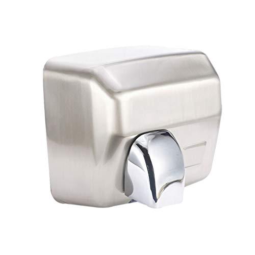GCHOME Handtrockner, Bad WC Automatische Induktion Edelstahl kommerziellen Händetrockner