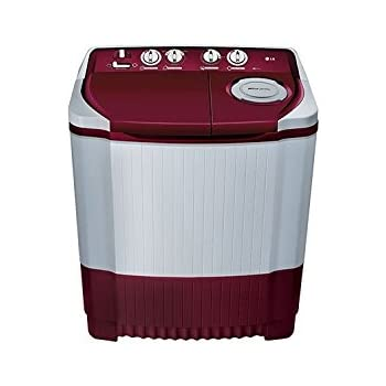 LG P7255R3FA Semi-automatic Washing Machine (6.2 Kg,Color Burgundy)