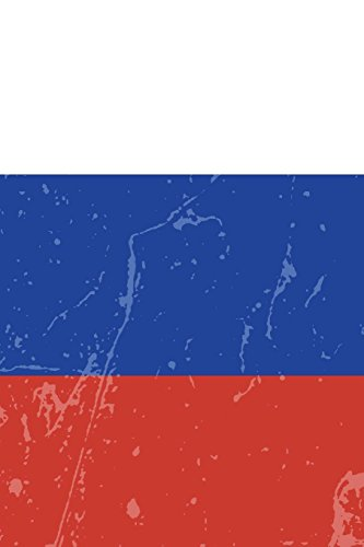 Russia Flag Journal: Russia Travel Diary, Russian Souvenir, lined Journal to write in (Red Flag Football)