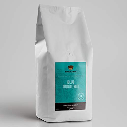 Brown Bear Blue Mountain Mittlere Röstung Kaffeebohnen 1 kg