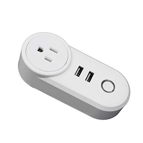 YFQH Smart Plug-WiFi Smart Socket App teléfono móvil Control Remoto Inteligente de...