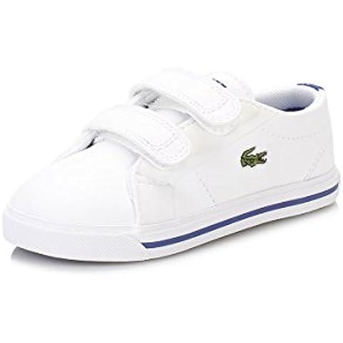 Lacoste Niños Blanco Marcel 316 1 SPI Zapatillas