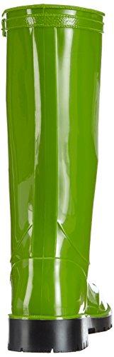 Chuva IRIS DAMESLAARS PVC GROEN 39 Damen Halbschaft Gummistiefel Grün (Grün(Groen) 08)